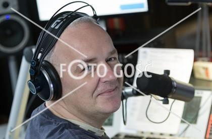 141001 - Katowice . Radio eM . n/z. Grzegorz Gajda . Fot. Roman Koszowski /Gosc Niedzielny - 249efa7f871e73b0e859bcd0f81a4392